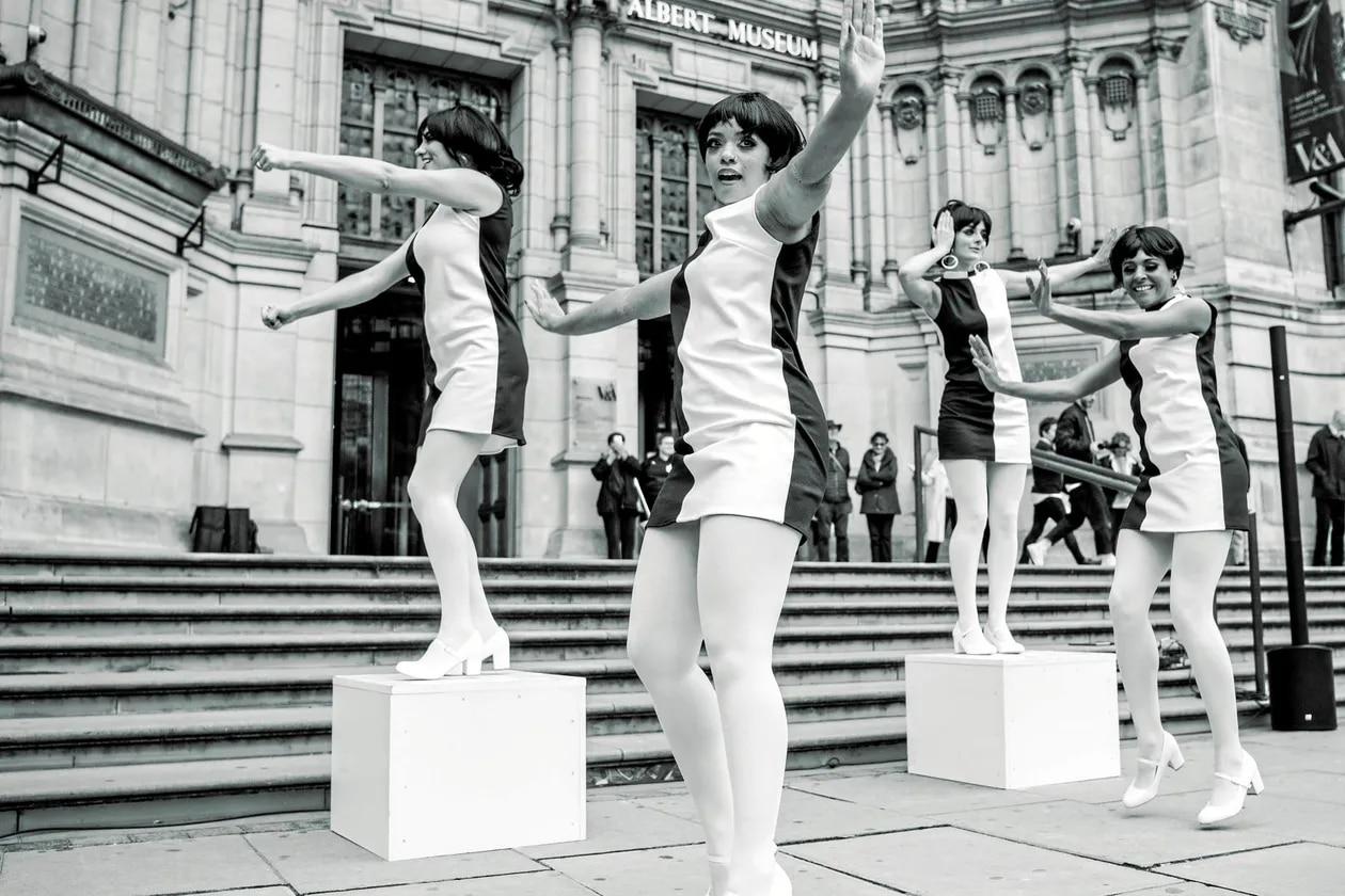 Mary Quant, la créatrice de la mini-jupe à l'été 64